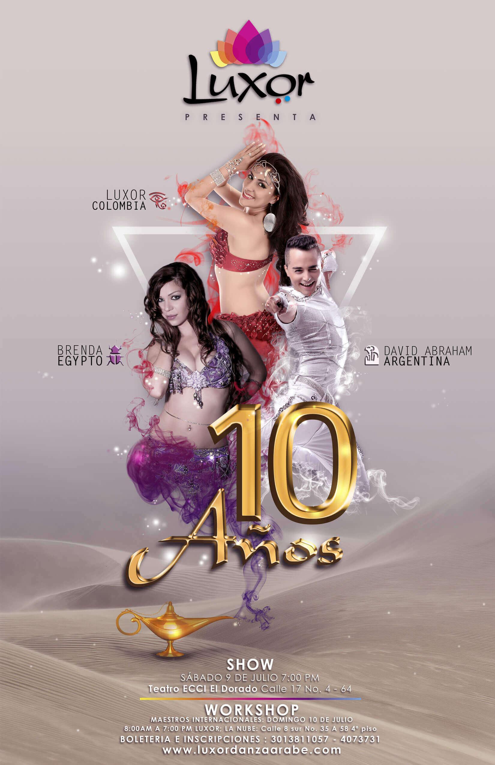 Luxor Danza Árabe - Show Luxor 10 años